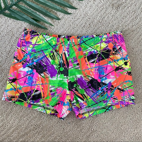 Body Wrappers vintage dance shorts large